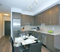 Dining/Kitchen Fully Equipped Five Appliances Stainless Steel North York