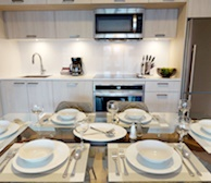 Kitchen Fully Equipped Five Appliances Stainless Steel Downtown Toronto