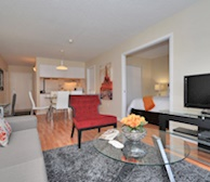 Overview Free WiFi Fully Furnished Apartment Suite Bois Franc Saint-Laurent Quebec
