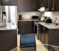 Kitchen Fully Equipped Five Appliances Stainless Steel Brampton