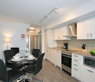 Kitchen Fully Equipped Five Appliances Stainless Steel - Midtown Toronto