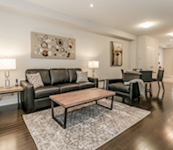 Premiere Suites Furnished Apartments Vaughn Toronto Townhouse Living Space