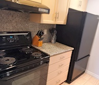 Kitchen Fully Equipped Five Appliances Downtown Toronto