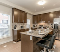 Premiere Suites Furnished Apartments Vaughn Toronto Townhouse Kitchen