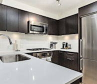 Kitchen Fully Equipped Five Appliances Fully Furnished Condo Richmond