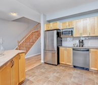 Kitchen Fully Equipped Five Appliances Stainless Steel Ottawa