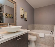 Master Bathroom Walk In Shower Fully Furnished Apartment Suite Markham