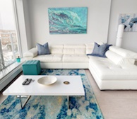 Living Room Free WiFi Fully Furnished Apartment Waterview Suite Dartmouth NS