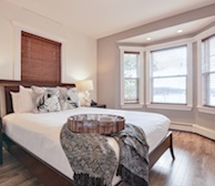 Master Bedroom Fully Furnished Apartment Suite St. John's Newfoundland