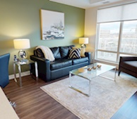602 Living Room Free WiFi Fully Furnished Apartment Suite Ottawa
