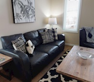 Living Room Free WiFi Fully Furnished Apartment Suite Kitchener