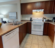 Kitchen Fully Equipped Five Appliances Kitchener