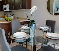 Dining Room Fully Furnished Apartment Suite Oakville