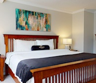 Master Bedroom King Mattress Fully Furnished Apartment Suite Oakville
