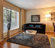 Living Room Free WiFi Fully Furnished Apartment Suite Bois Franc Saint-Laurent Quebec