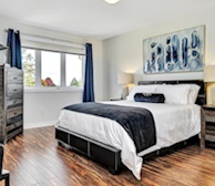Master Bedroom Queen Mattress Fully Furnished Apartment Suite Ottawa