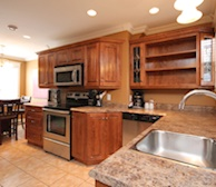 Kitchen Fully Equipped Five Appliances Stainless Steel Bond Street Townhouse St. John's, NL