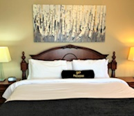 Master Bedroom King Mattress Fully Furnished Apartment Suite Mississauga