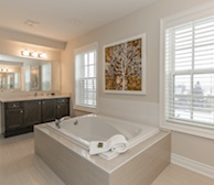 Premiere Suites Furnished Apartments Vaughn Toronto Townhouse Bathroom