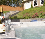 Amenity Outdoor Hot tub St. John's Newfoundland