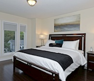Master Bedroom Fully Furnished Apartment Suite Pickering