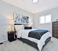 Second Bedroom Double Mattress Fully Furnished Apartment Suite Kanata