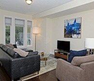 Living Room Free WiFi Fully Furnished Apartment Suite Pickering