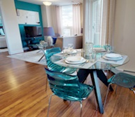 Living Room Free WiFi Fully Furnished Apartment Suite Dartmouth NS