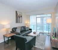 2116-Living Room Free WiFi Fully Furnished Apartment Suite Midtown Toronto