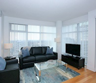 3508-Living Room Free WiFi Fully Furnished Apartment Suite Midtown Toronto