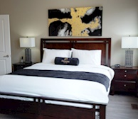Master Bedroom Queen Mattress Fully Furnished Apartment Suite Oakville
