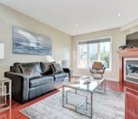 Living Room Free WiFi Fully Furnished Apartment Suite Kanata