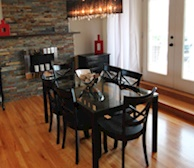 Dining Room Fully Furnished Apartment Suite 59 Harvey Road St. John's NL