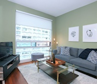 Living Room Free WiFi Fully Furnished Apartment Suite Toronto
