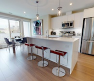 Kitchen Fully Furnished Appliances  WiFi Fully Furnished Apartment Suite Halifax NS