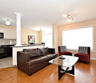 8 Mcpeake Living Room Free WiFi Fully Furnished Apartment Suite Kanata