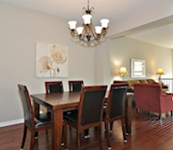 Dining Room Fully Furnished Town House Kanata