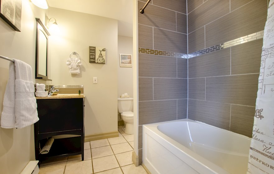 Bathroom Fully Furnished Apartment Suite St. John's NL