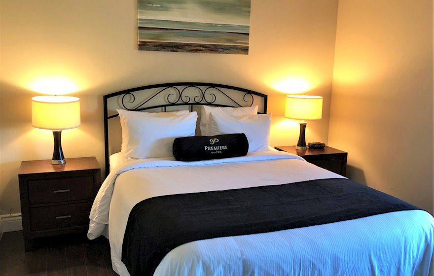 Second Bedroom Double Mattress Fully Furnished Apartment Suite Oakville