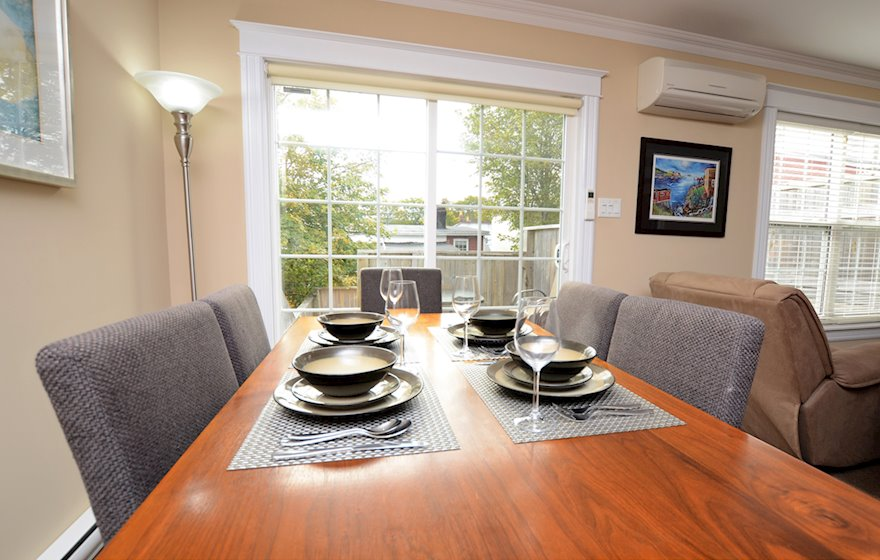 Dining Room Fully Furnished Apartment Suite St. John's Newfoundland