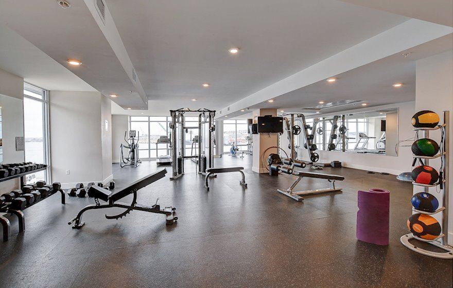 Gym Fitness Room Common Area Free Access Halifax NS