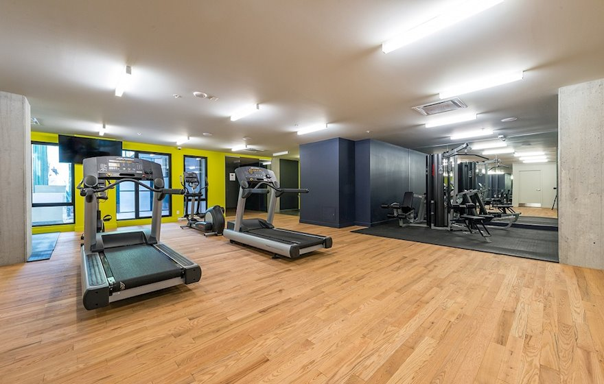 Private Fitness Facility Le M2 Montreal Quebec