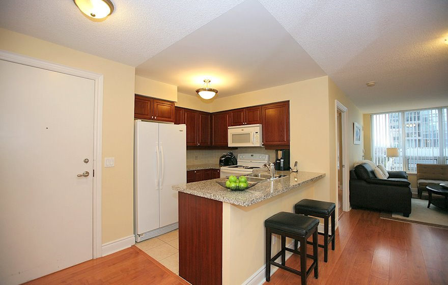 Kitchen Fully Equipped Five Appliances North York