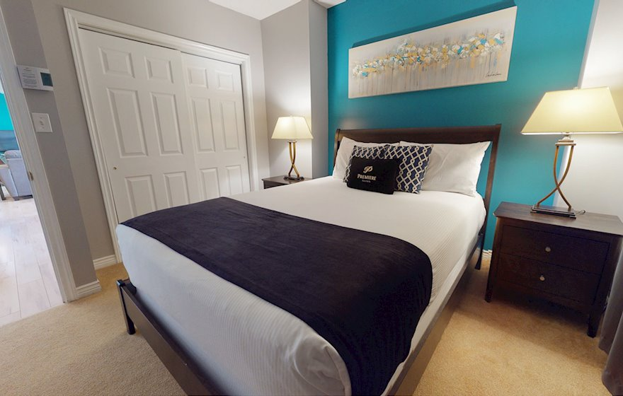 Second Bedroom Fully Furnished Apartment Suite Moncton NB