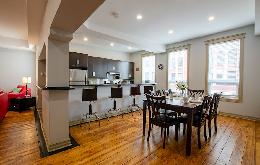 Dining Room Fully Furnished Apartment Suite St. John's NL