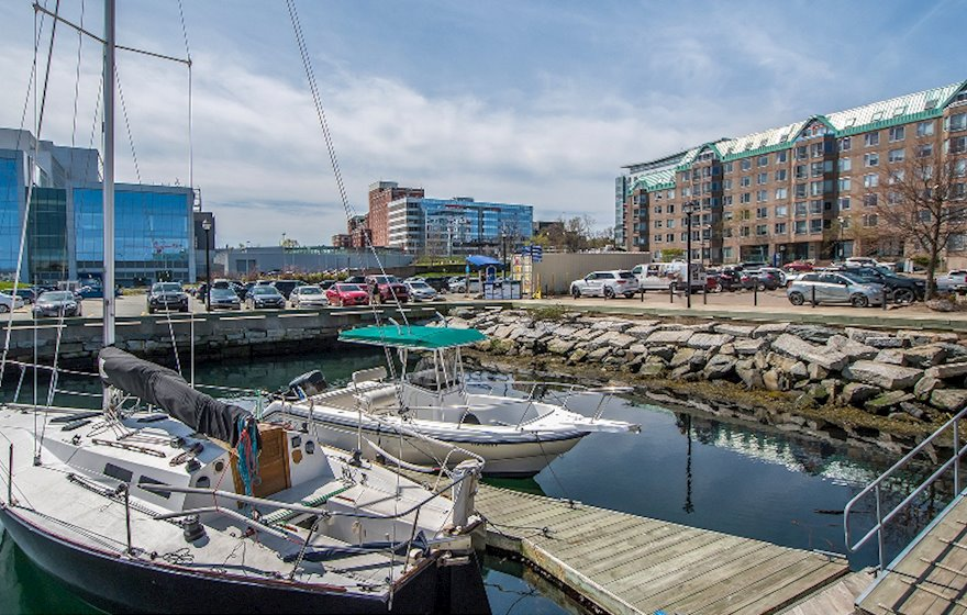 Waterfront View Downtown Halifax