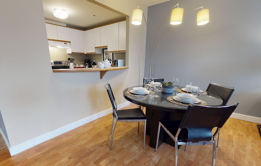 Dining Room Fully Furnished Apartment Suite Halifax NS