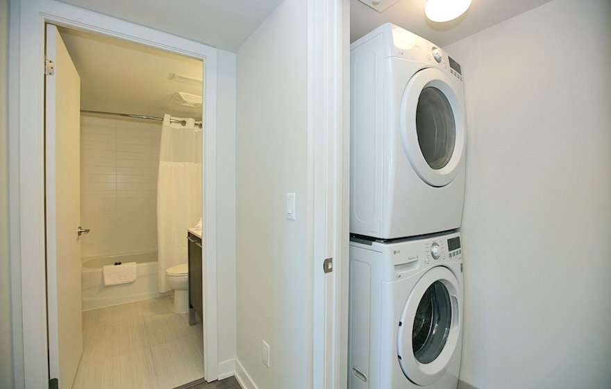 In Suite Laundry Furnished Apartment Suite North York